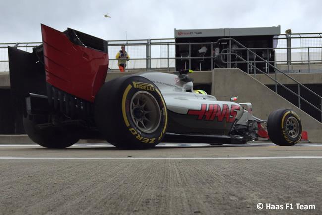 Esteban Gutiérrez - Haas - Gran Premio de Gran Bretaña 2016