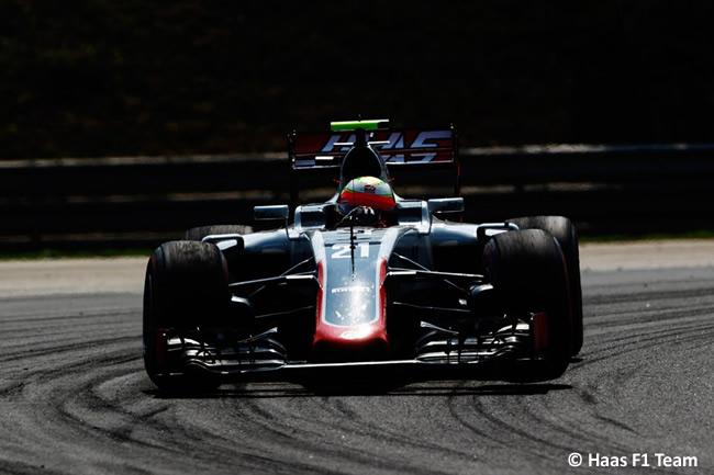 Esteban Gutiérrez - Haas - GP Hungría 2016