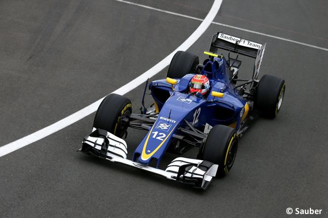Felipe Nasr - Sauber - Gran Premio de Gran Bretaña 2016 - Calificación