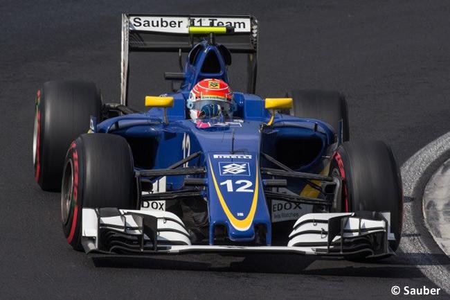 Felipe Nasr - Sauber - Calificación GP Hungría 2016