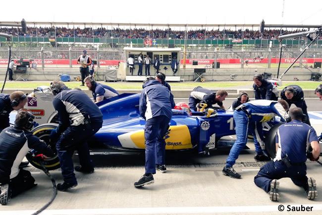 Felipe Nasr - Sauber - Gran Premio de Gran Bretaña 2016 - Entrenamientos