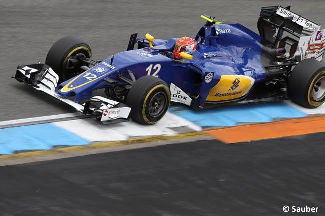 Felipe Nasr - Sauber - Calificación GP Alemania 2016