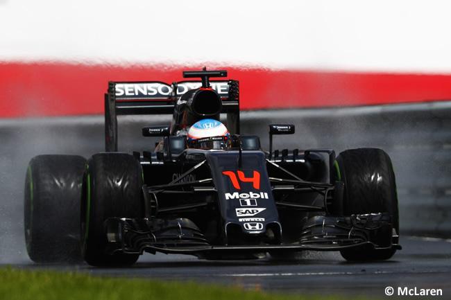 Fernando Alonso - McLaren - GP Austria 2016