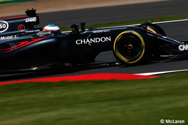 Fernando Alonso - McLaren - Gran Premio de Gran Bretaña 2016