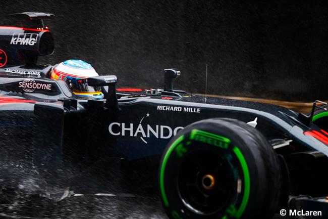 Fernando Alonso - McLaren - Test Silverstone - Día 1