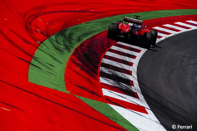 Ferrari - GP Austria 2016