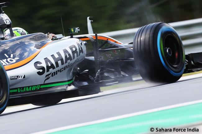 Force India- Calificación GP Hungría 2016
