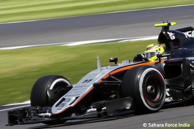 Sergio Pérez - Force India - GP Gran Premio de Gran Bretaña 2016