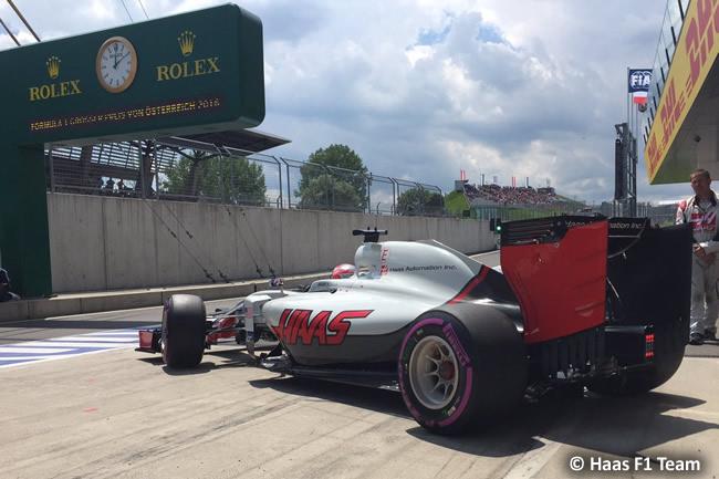 Haas - GP Austria 2016 - Calificación