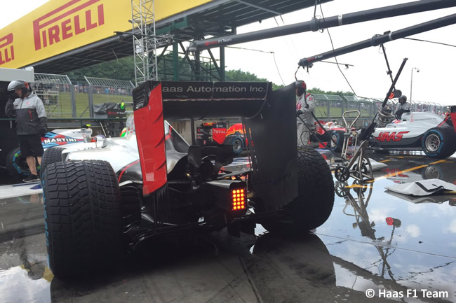 Haas - Calificación GP Hungría 2016