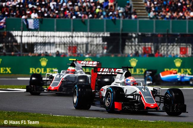 Haas - GP Gran Premio de Gran Bretaña 2016