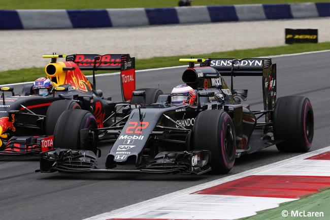 Jenson Button - McLaren - GP Austria 2016