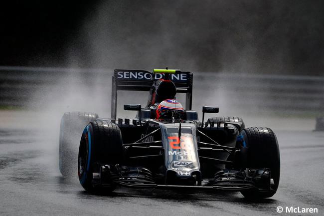 Jenson Button - McLaren -- Calificación GP Hungría 2016