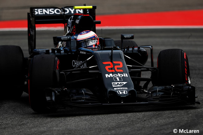 Jenson Button - McLaren - GP Alemania, Hockenheim 2016