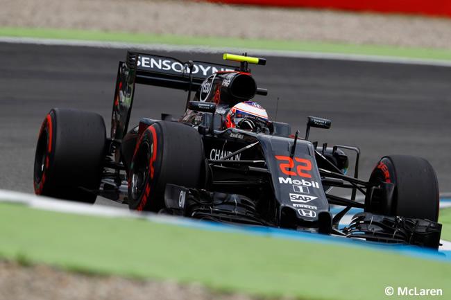 Jenson Button - McLaren - GP Alemania 2016 - Calificación
