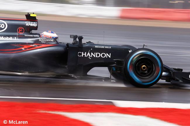Jenson Button - McLaren - GP Gran Premio de Gran Bretaña 2016