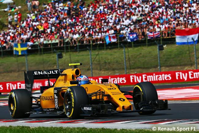 Renault - GP Hungría 2016
