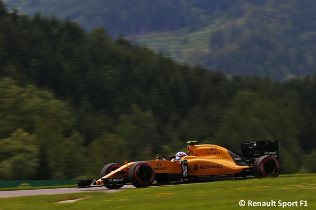 Jolyon Palmer - Renault - GP Austria