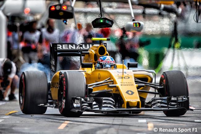 Jolyon Palmer - Renault - GP Alemania 2016 - Calificación