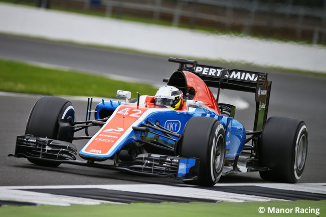 Jordan King - Manor - Test Silverstone 2016 - Día 2