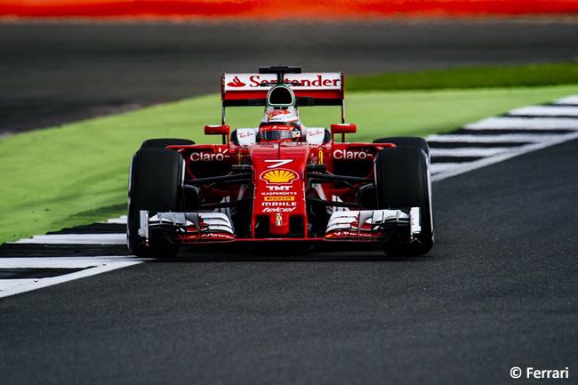 Kimi Raikkonen - Scuderia Ferrari - Test Temporada Silverstone 2016 - Día