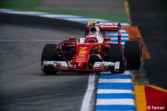Kimi Raikkonen - Scuderia Ferrari - GP Alemania 2016 - Calificación