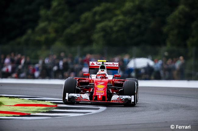 Kimi Raikkonen - Ferrari- GP Gran Premio de Gran Bretaña 2016