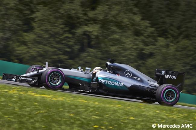 Lewis Hamilton - Mercedes AMG - GP Austria 2016 - Calificación