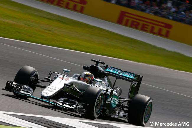 Lewis Hamilton - Mercedes AMG - Gran Premio de Gran Bretaña 2016 - Entrenamientos