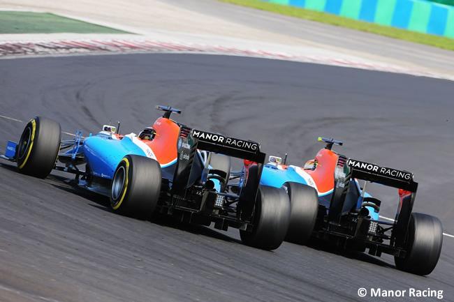 Manor - GP Hungría 2016