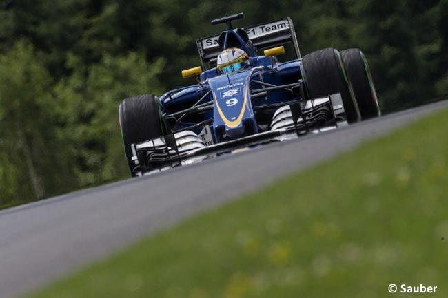 Marcus Ericsson - Sauber - GP Austria 2016