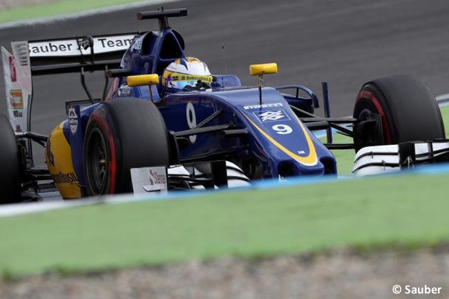 Marcus Ericsson - Sauber - GP Alemania, Hockenheim 2016