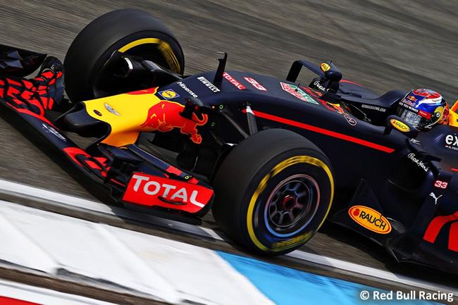 Max Verstappen - Red Bull Racing - GP Alemania, Hockenheim 2016