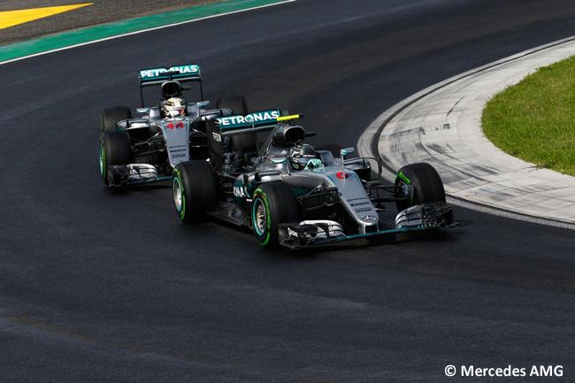 Mercedes - Calificación GP Hungría 2016