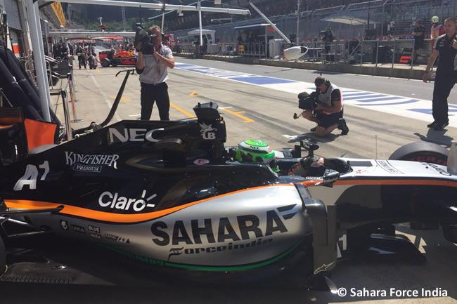 Nico Huleknberg - Force India - GP Austria 2016