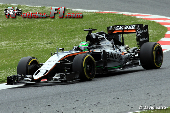 Nico Hulkenberg - Force India - www.noticias-f1.com - David Sarró