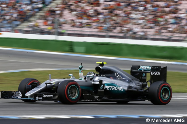 Nico Rosberg - Mercedes AMG - GP Alemania 2016 - Calificación