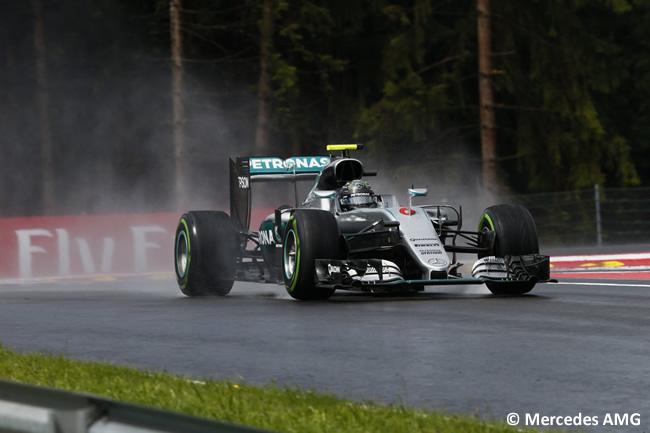 Nico Rosberg - Mercedes AMG - GP Austria