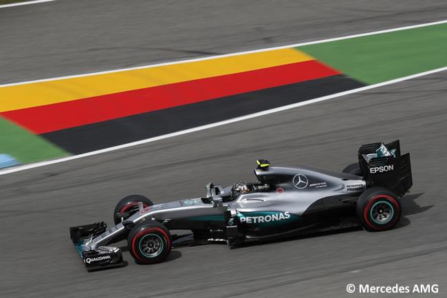 Nico Rosberg - Mercedes - GP Alemania, Hockenheim 2016