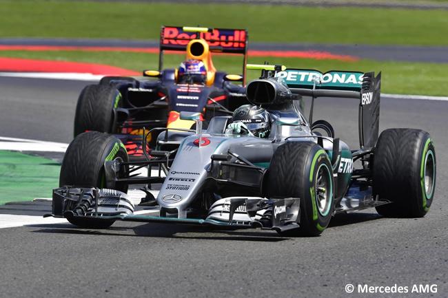 Nico Rosberg - Mercedes AMG - Gran Premio de Gran Bretaña 2016