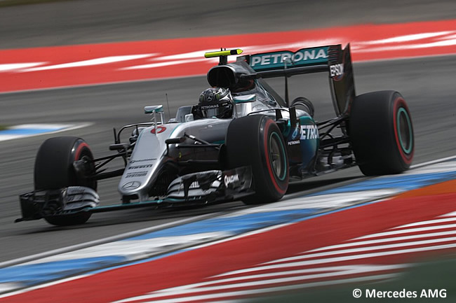 Nico Rosberg - Mercedes - Pole -GP Alemania 2016