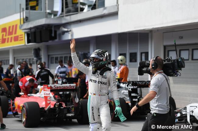 Nico Rosberg - Mercedes AMG - Pole Gran Premio de Hungría
