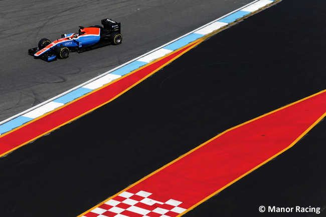 Pascal Wehrlein - Manor - GP Alemania, Hockenheim 2016