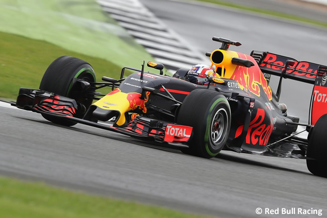 Pierre Gasly - Red Bull Test Silverstone - Día 1
