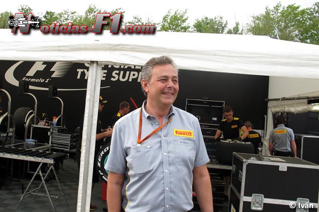 Pirelli - Mario Isola - www.noticias-f1.com