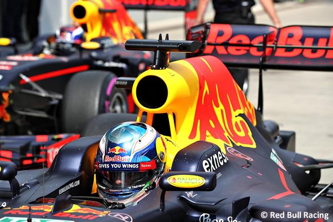 Red Bull Racing - GP Austria 2016 - Calificación