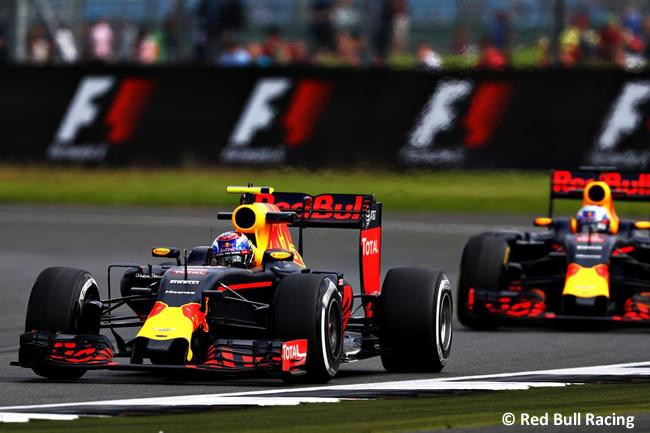 Red Bull Racing - GP Gran Premio de Gran Bretaña 2016