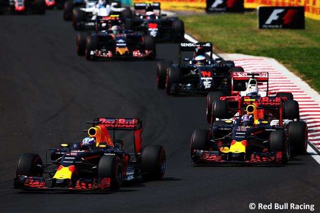 Red Bull - GP Hungría 2016