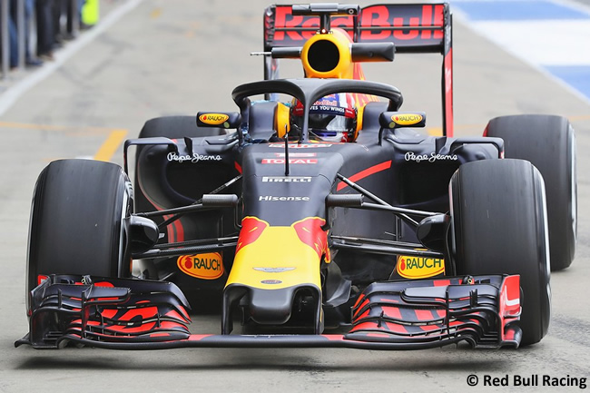 Red Bull Racing - Sistema de protección - Halo