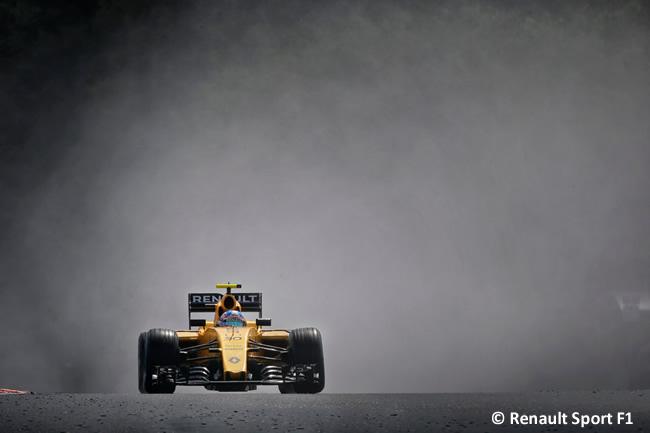 Renault - Calificación GP Hungría 2016